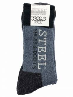 Termo Socks Steel Black